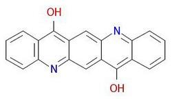 رنگدانه-بنفش -19-ساختار مولکولی